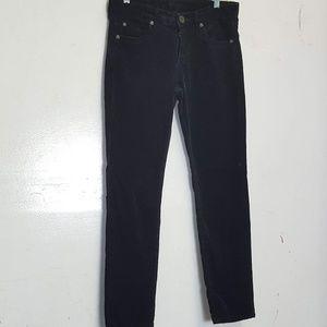 kut from cloth black corduroy pants Sz 6